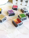 6 Штук красочные деревянные штамп комплект