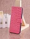 Para iPhone 8 iPhone 8 Plus Capinha iPhone 5 Case Tampa Carteira Porta-Cartao Com Suporte Flip Corpo Inteiro Capinha Cor Solida Rigida