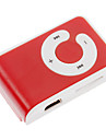 TF Card Reader MP3 Player  Bag with Clip Red&White