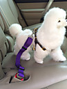 Dog Car Seat Harness/Safety Harness Adjustable / Retractable Safety Solid Nylon Black Purple Red Blue Pink