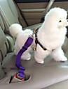 Cachorro Cinto de Seguranca para Caes / Cinto de seguranca Retratavel Seguranca Solido Nailon Preto Roxo Vermelho Azul Rosa claro