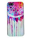 Pintura em Aquarela Padrão Hard Case para iPhone 5/5S PC