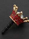 3.5mm Crown Design Anti-Dust Earphone Plug
