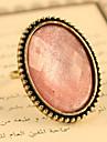 반지 조절 가능 파티 / 일상 보석류 합금 여성 문 목걸이조절가능 핑크