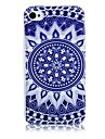 Blue and White Porcelain Pattern Silicone Soft Case for iPhone5/5S