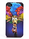 O Padrão Girafa Explosão ABS Voltar para iPhone 4/4S