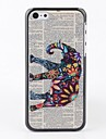 Newspaper with Elephant Back Case for iPhone 5C