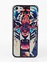 Affaire Tiger Head Retour coloré pour iPhone 5C