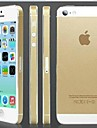 Gold Hardcover Back Screen Protector for iPhone 5/5S