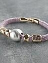 Мисс rose®punk стиль фиолетовый ручной браслет