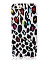 Для Кейс для iPhone 5 Чехлы панели С узором Задняя крышка Кейс для Леопардовый принт Мягкий Силикон для iPhone SE/5s iPhone 5