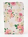 Pour Samsung Galaxy Coque Avec Support / Clapet Coque Coque Intégrale Coque Fleur Cuir PU Samsung Tab 3 7.0