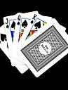 Presente personalizado cinza padrao de verificacao do cartao de jogo para Poker