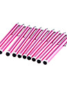 10 Pieces Packed Clip on Rose Stylus Touch Screen Pen for iPad and Others