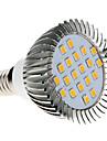 5W E14 Lâmpadas Espiga MR16 20 SMD 2835 370-430 lm Branco Quente AC 220-240 V