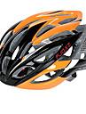 FJQXZ Ultralight 26 Vents PC+EPS Orange Cycling Helmet