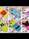Cas Motif mignon poupée de bande souple en silicone pour iPhone 5/5S (couleurs assorties)