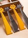 Cat Shape Wooden Ruler