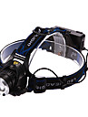 Headlamps Headlight LED 900/1600/1200/450 lm 3 Mode Cree XM-L T6 Cree XM-L2 T6 with Batteries and Charger Rechargeable Multifunction