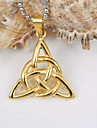 Jewelry Pendant Necklaces Daily / Casual Titanium Steel / Gold Plated Women / Men Gold / Silver Wedding Gifts