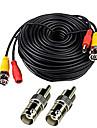 Cables 150 Feet Video Power Cable for CCTV Surveillance System pour la securite Systemes 5000cm 0.7kg