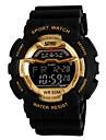SKMEI Men's Digital Watch Wrist watch Sport Watch Digital Alarm Calendar / date / day Chronograph Water Resistant / Water Proof LCD Rubber