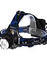 헤드램프 헤드라이트 LED 600 lm 3 모드 Cree XM-L T6 줌이 가능한 조절가능한 초점 전술적 인 멀티기능
