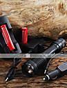 E007 LED Flashlights/Torch Handheld Flashlights/Torch LED 2000 Lumens 5 Mode Cree XM-L T6 Adjustable Focus for Camping/Hiking/Caving