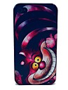 Pink Cat Pattern PC Hard Case for iPhone 4/4S