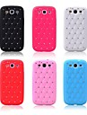 Shiny Silicone Soft Case with Diamond for Samsung Galaxy S3 i9300(Assorted Colors)