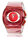 Women's Simple Style Plastic Band Quartz Bracelet Watch (Assorted Colors) Cool Watches Unique Watches