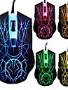USB2.0 6D Gaming Wired Mouse 2000DPI  LED Color Shift in Every 3 Second in 7 Colors