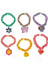 Z&X®  20pcs  Assortment Charms for Loom Bands Bracelets Small Pendant Styles Mixed