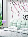 Flor de Pessegueiro adesivos de parede padrão (1PCS)