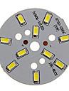 5W 400-450LM Прохладный 5730SMD Интегрированный модуль Белый свет светодиодный (15-18V)