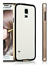 Hybrid Flexible TPU + PC Frame Bumper Case   for Samsung Galaxy S5  i9600  (Assorted Colors)