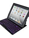 семь цветов подсветки клавиатуры Bluetooth для Ipad 4/3/2
