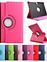 Case For Tab S 10.5 Samsung Galaxy Samsung Galaxy Case with Stand Flip 360° Rotation Full Body Cases Solid Color PU Leather for