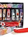 fruits aromall® ensemble de l'encens parfumé cône d'encens& bâtonnets d'encens avec support unique de l'encens en céramique rouge