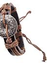 patron vintage bracelet en cuir pour hommes