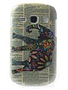 Relief Designed Colorful Elephant Pattern PC Hard Case for Samsung Galaxy 6810