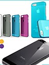 Ultrathin Colorful Scrub Hard Back Case for iPhone 5/5S(Assorted Color)