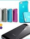 ultraminces gommage coloré affaire difficile pour iPhone 5 / 5s (de couleurs assorties)
