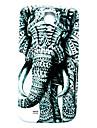 Animal Elephant Pattern Thin Hard Case Cover for Samsung Galaxy S4 Mini I9190