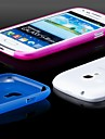 Pour Samsung Galaxy Coque Ultrafine Dépoli Translucide Coque Coque Arrière Coque Couleur Pleine Polycarbonate pour Samsung S3 Mini