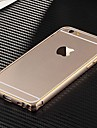Case For Apple iPhone 6 iPhone 6 Plus Ultra-thin Bumper Solid Color Hard Metal for iPhone 6s Plus iPhone 6s iPhone 6 Plus iPhone 6