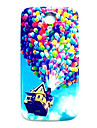 Balloon Up Pattern Thin Hard Case Cover for Samsung Galaxy S4 Mini I9190