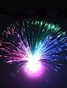 광섬유 꽃 디자인 플라스틱 밤 빛 (1PCS)