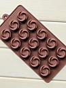 выпечке Mold Цветы Лед Шоколад Торты Силикон Экологичные Своими руками Антипригарное покрытие