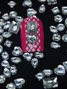 100pcs Joias de unha Fruta Flor Abstracto Classico Desenho Adoravel Casamento Punk Diario Fruta Flor Abstracto Classico Desenho Adoravel